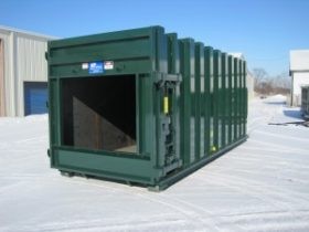 Galfab Tapered Compactor Receiver Container